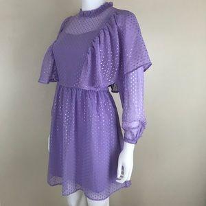 ASOS Ruffle Prairie Dress